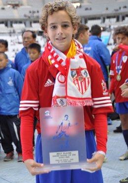Manuel Bueno España Sevilla mejor jugador Danone Nations Cup