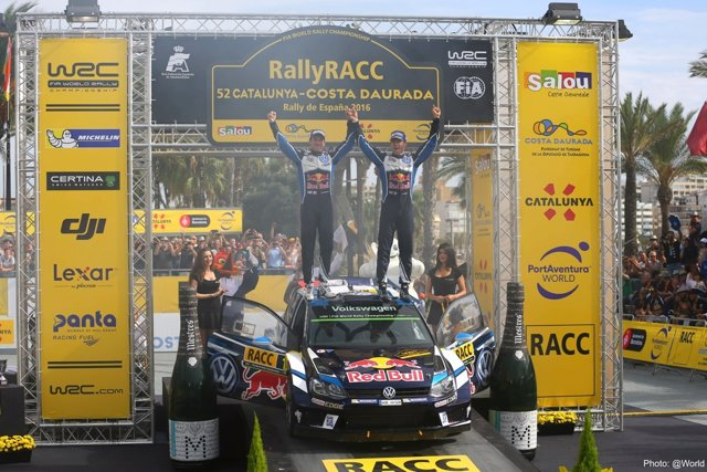 Sébastien Ogier Julien Ingrassia Volkswagen RAlly RACC Catalunya