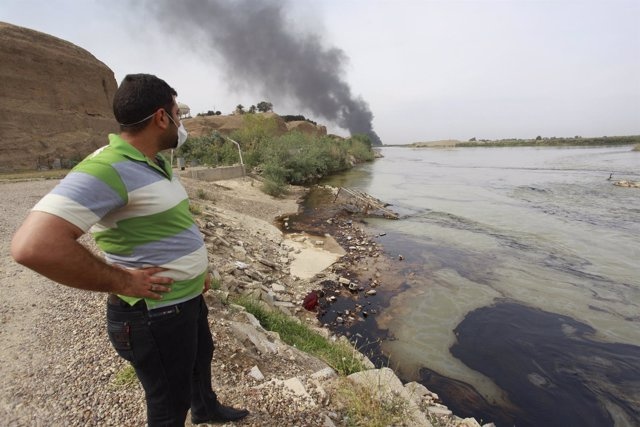 Río Tigris, en el norte de Irak