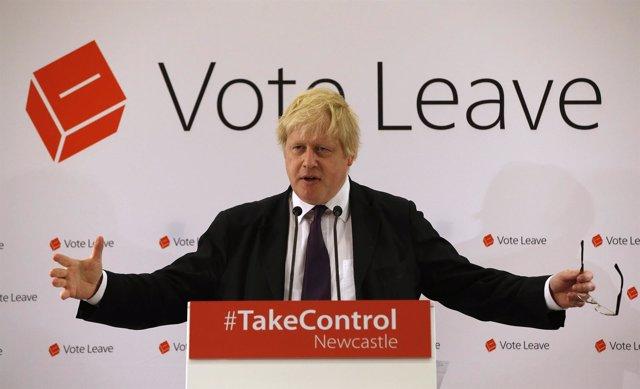 El exalcalde de Londres y líder de la campaña del 'Brexit', Boris Johnson