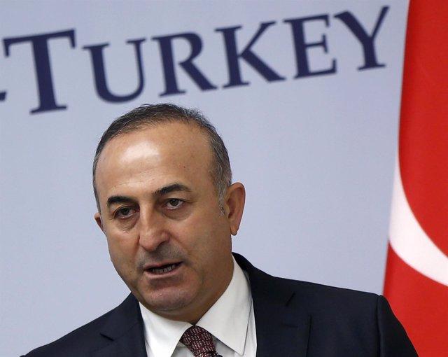 El ministro de Asuntos Exteriores turco, Mevlut Cavusoglu