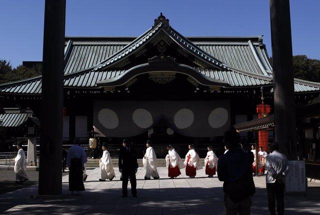 Santuario sintoísta de Yasukuni, en Tokio