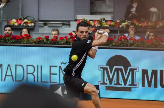 Roberto Bautista Agut en el Mutua Madrid Open 2016
