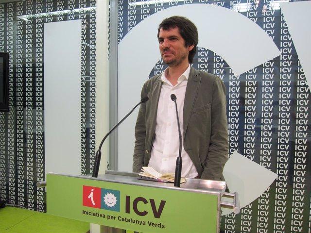 El portavoz de ICV, Ernest Urtasun