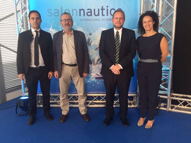 Delegación canaria en el Salon Náutico de Barcelona