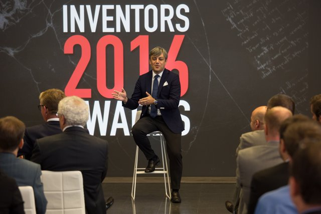 Luca de Meo en los Inventors Awards 2016