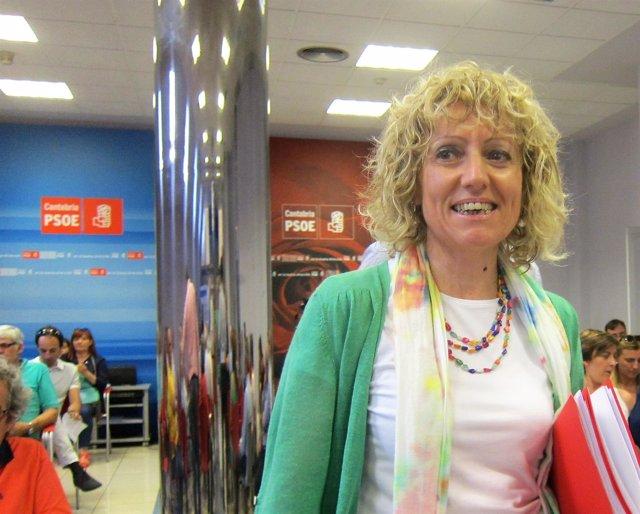 Eva Díaz Tezanos, secretaria general PSOE cántabro y vicepresidenta del Gobierno