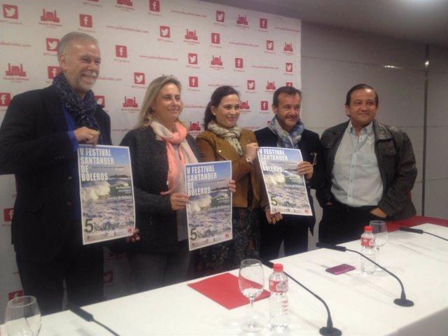 Presentación del V Festival Santander de Boleros