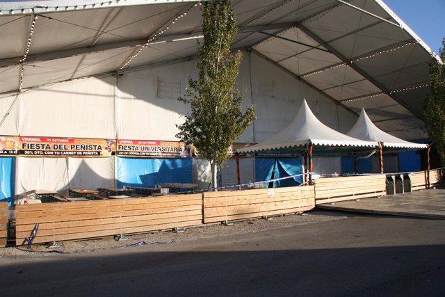 Carpa de la Fiesta de la Cerveza de Valdespartera.