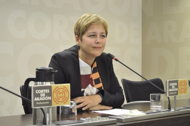 La diputada del Partido Aragonés (PAR), Berta Zapater.