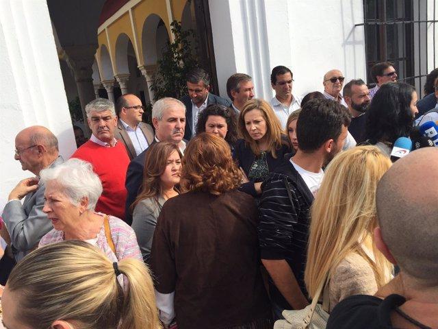 Concentración en Olivares.