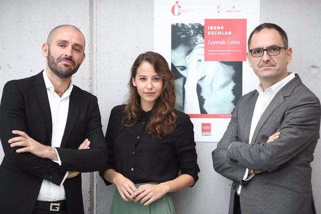 Presentación de Leyendo Lorca, con Irene Escolar