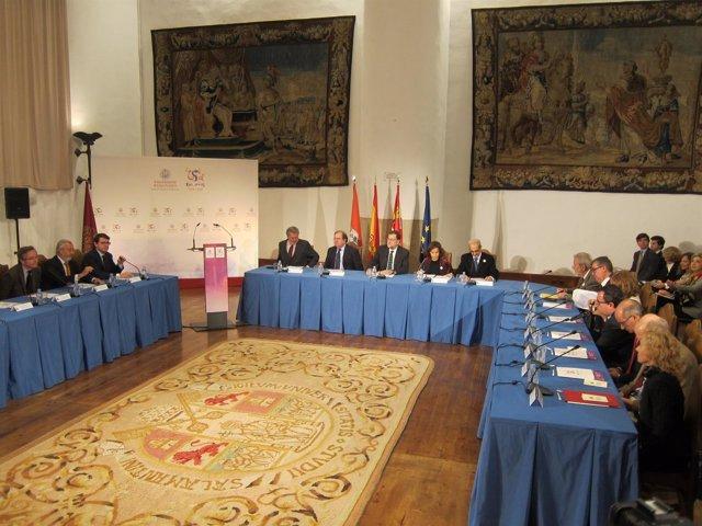 Reunión Del Pleno De La Comisión Interinstitucional En La USAL