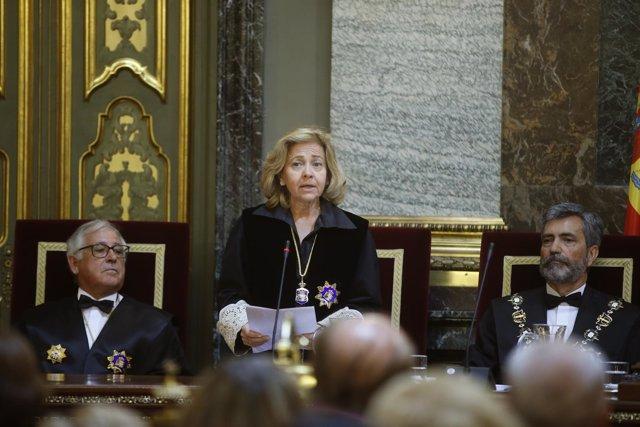 La fiscal general del Estado, Consuelo Madrigal