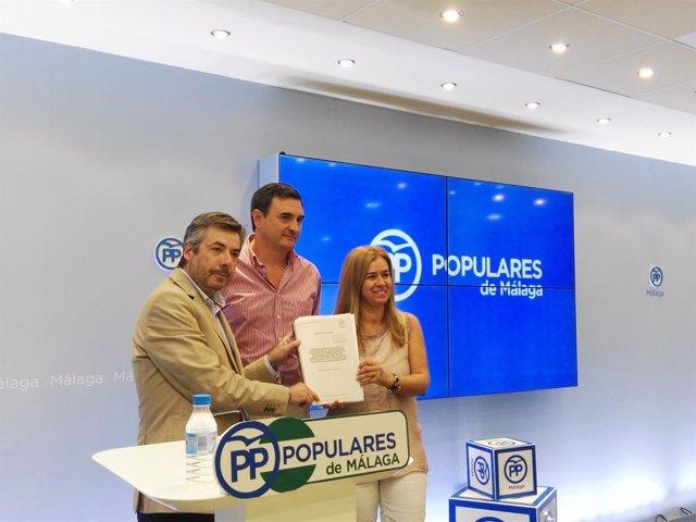 Torrico, Romero y Ruiz Sillero, PP-A