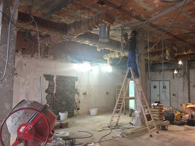 Obras reparaciones hospitales
