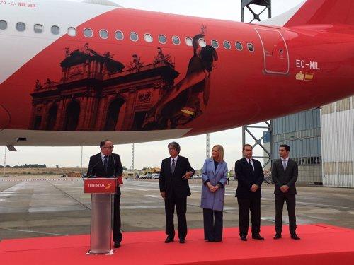 Iberia reaunda sus vuelos a Japón