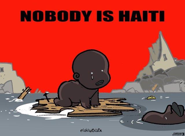 Nobody is Haiti, denuncia de la escasa atención a Haiti