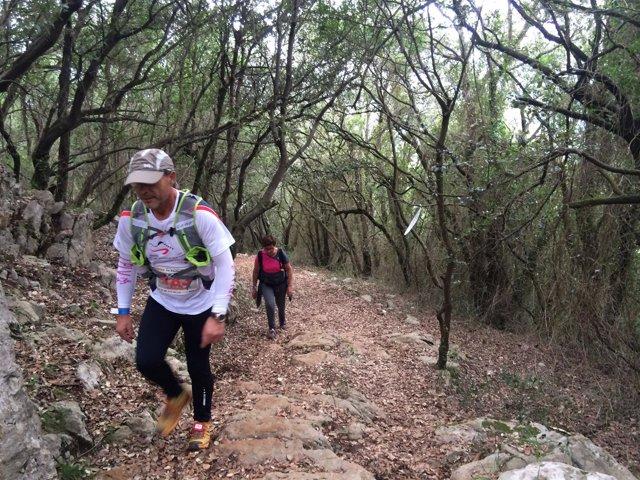 Participantes en e Wail Trail
