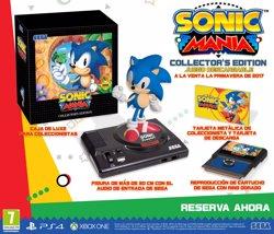 L'edició de col·leccionista de Sonic Mania també arribarà a Espanya (SEGA)