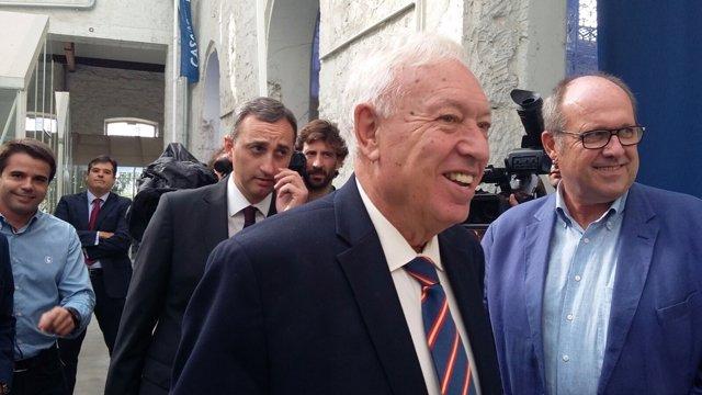 El ministro García-Margallo en su visita a Alicante