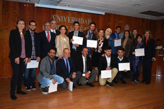 Bienvenida a diez refugiados que estudiarán en España