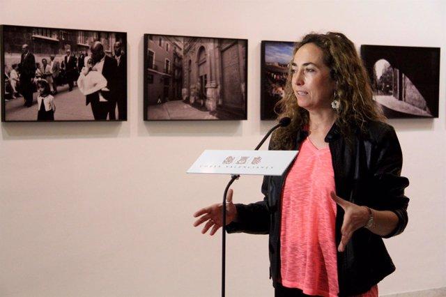 Carolina Punset (C's) en las Corts Valencianes