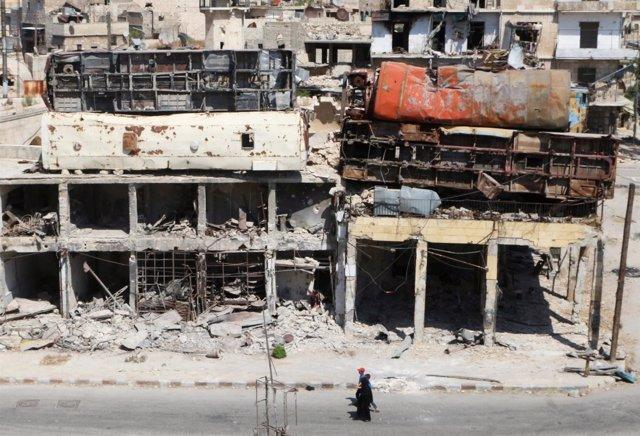 Ciudad siria de Alepo 3