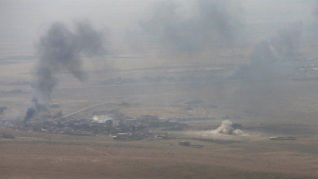 Comienzan los combates por la ofensiva para recuperar Mosul