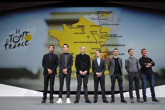 Presentación del Tour de Francia 2017
