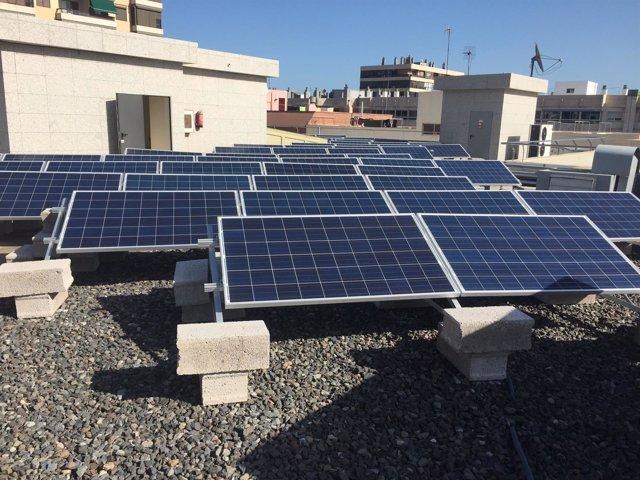 Planta fotovoltaica del Edificio de Usos Múltiples III (Gran Canaria)