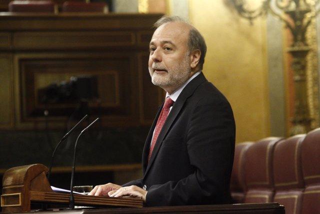 José Andrés Torres Mora, portavoz de Cultura del PSOE y diputado por Málaga