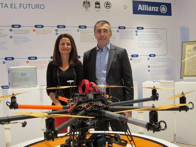 Laura del Alma y José Luis Ferré (Allianz)