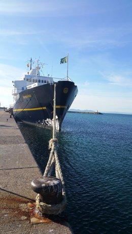 Crucero Serenissima en el Puerto de Roses