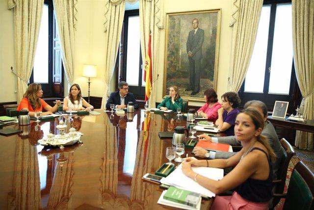 Ana Pastor preside la Mesa del Congreso de los Diputados