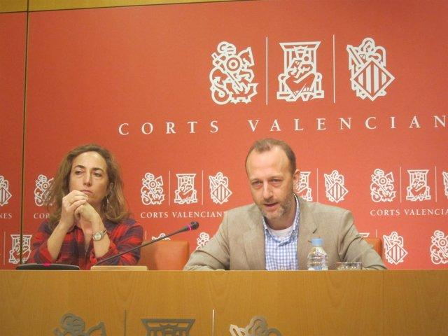 Carolina Punset y Alexis Marí en una imagen de archivo