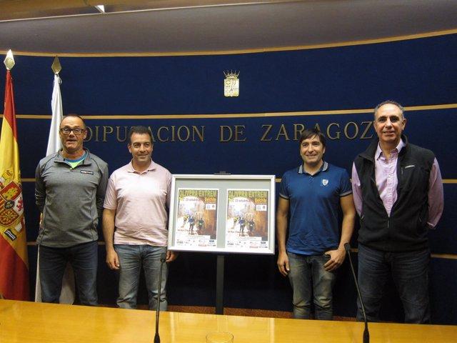 La Olivera Extrem se ha presentado hoy en la DPZ, en Zaragoza