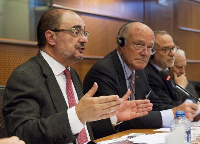 Impulso en Bruselas para la reapertura de la línea internacional del Canfranc