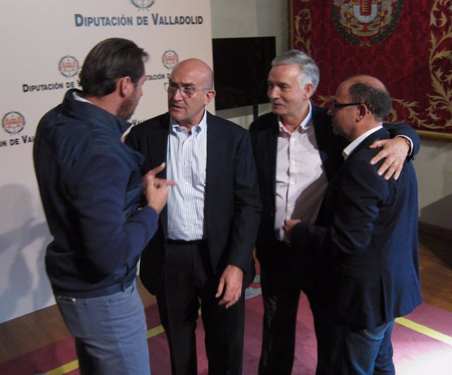 Óscar Puente, Jesús Julio Carnero, Artemio Domínguez Y Luis Vélez