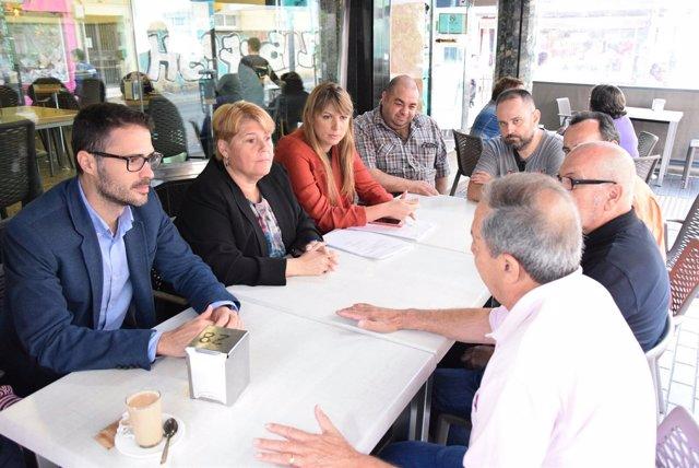 (Con AUDIO Y FOTO) El PSOE Acusa Al Alcalde De Falsear Políticamente El Proceso