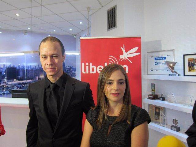 Los creadores de Libelium, David Gascón y Alicia Asín