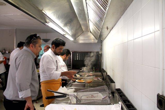 I Encuentro Iberoamericano de Cocina en Punta Umbría (Huelva).