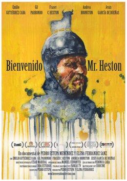 Cartel de 'Bienvenido Mr. Heston'