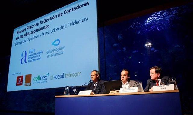 Jornada sobre Contadores Inteligentes organizada por Aguas de Valencia y la AEA