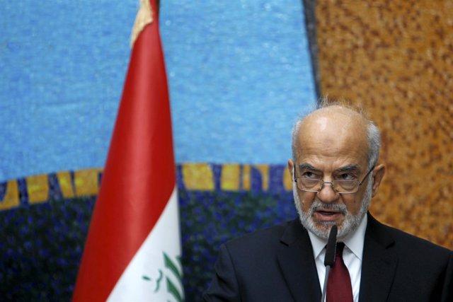 El ministro de Exteriores iraquí, Ibrahim al Jaafari