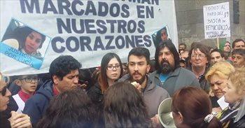 El hermano de la joven argentina asesinada Lucía Pérez pide justicia a...