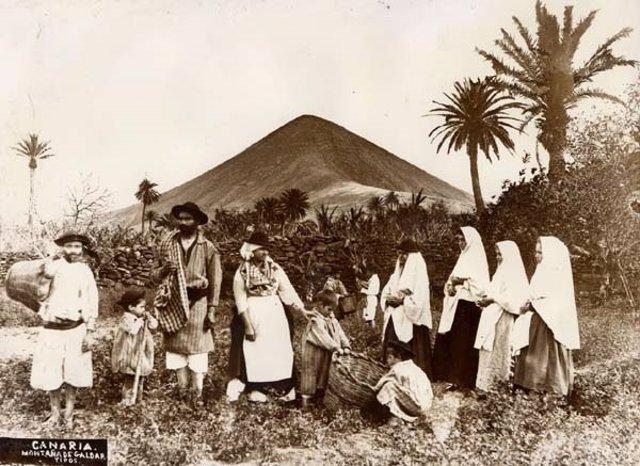 Una de las imágenes de la exposición 'Fotografía, identidad y turismo'