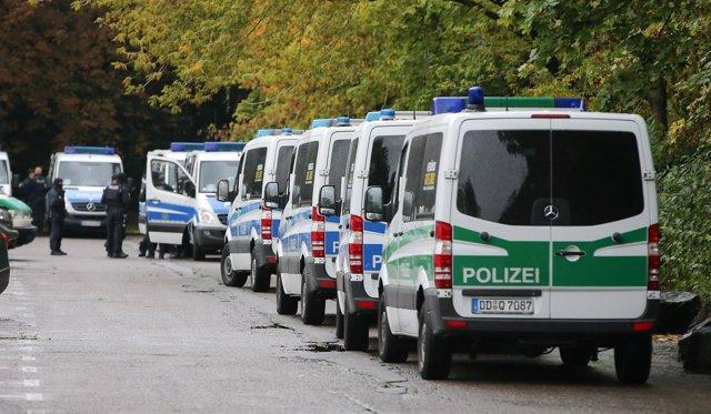 Heridos cuatro policías en la región alemana de Baviera