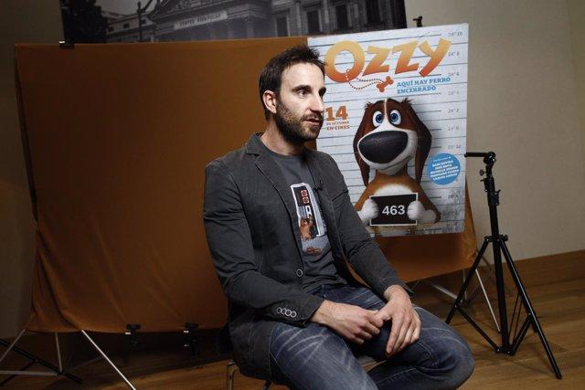 Dani Rovira en una entrevista con Europa Press por la presentación de Ozzy