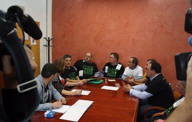 Apicultores con el PSOE
